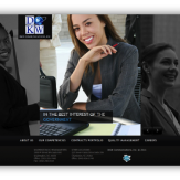 DKW Communications Website Redesign