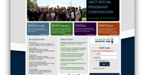 UNCFSP Website Redesign